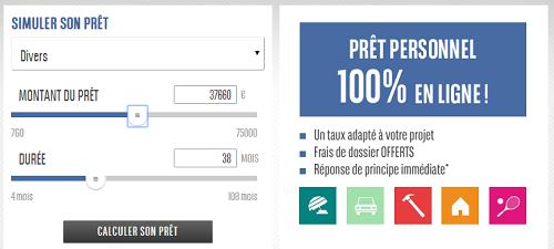 simulation rachat de credit BNP Paribas