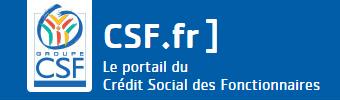 csf crédit fonctionnaire logo