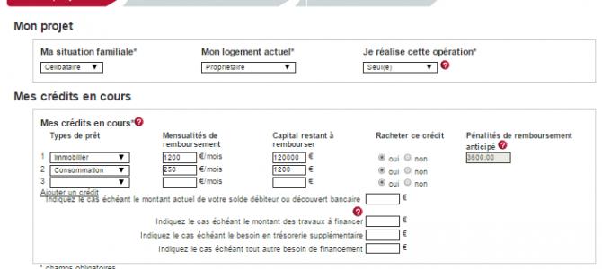 simulation rachat de credit Keyliance