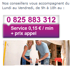 contact service client GMF