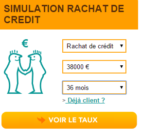 simulation rachat de credit Pret d'Union