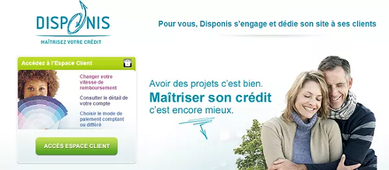 financement en ligne Disponis Société Générale