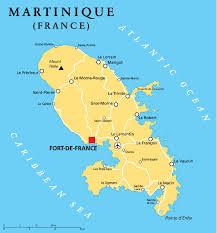 martinique Fort de France et Le Lamantin