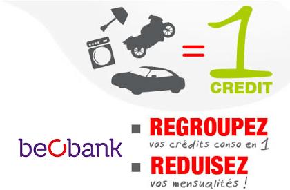 rachat de credit Beobank