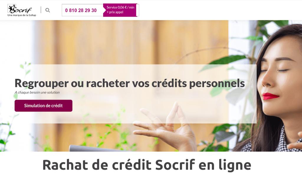 rachat de crédit socrif