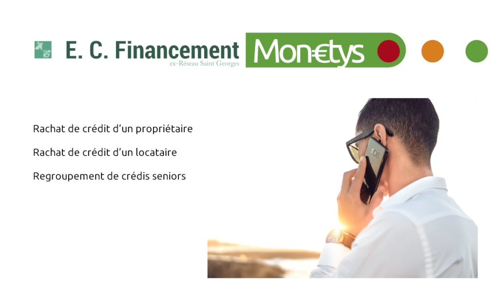 rachat de crédit EC Financement Monetys