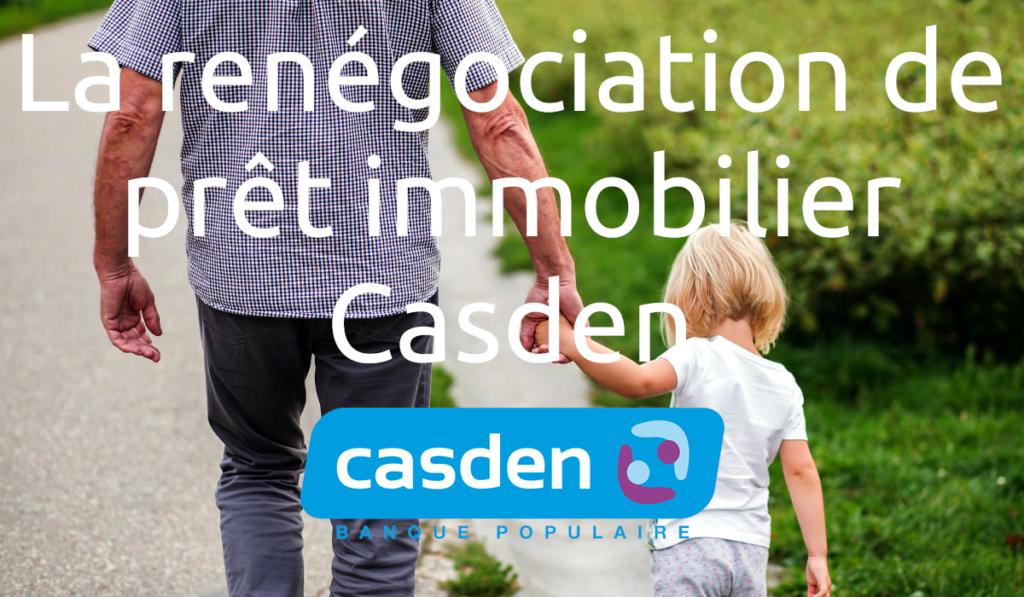 Renégociation de prêt immobilier Casden