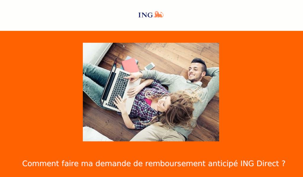 Remboursement anticipé ING Direct