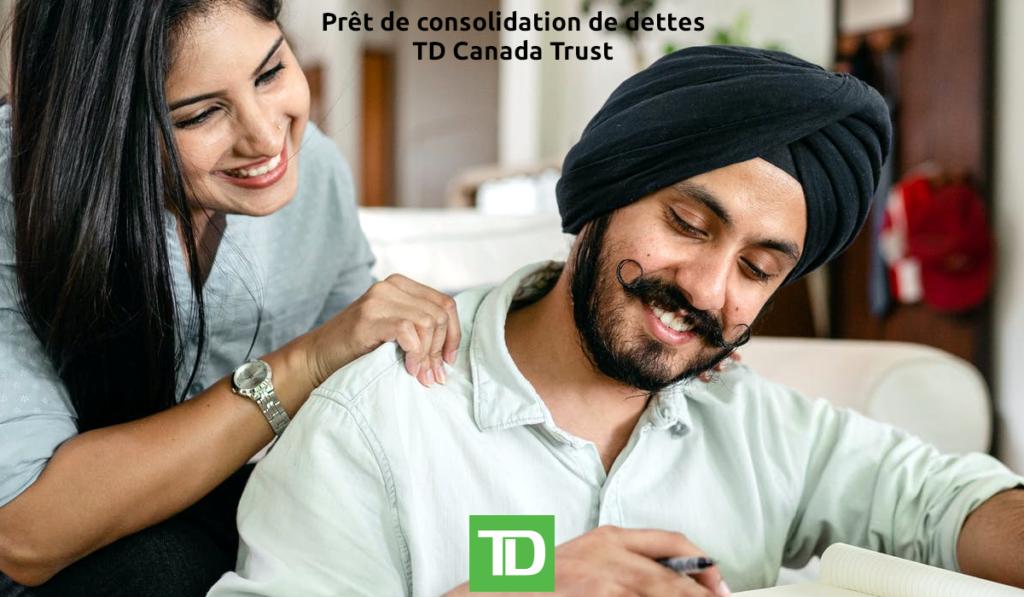 Consolidation de dettes TD Canada Trust